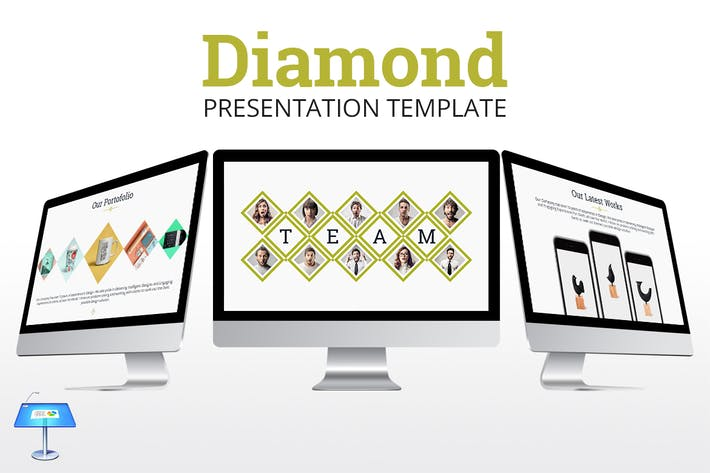 Thumbnail for Diamond - Keynote Presentation Template