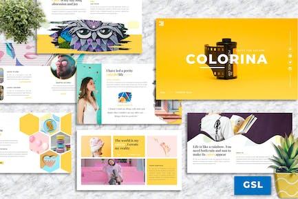 Colorina – Creative Business Googleslide Template
