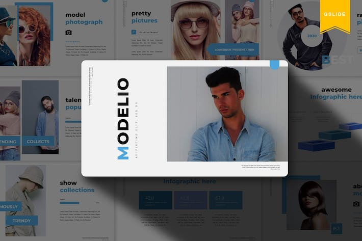 Thumbnail for Modelio | Google Slides Template