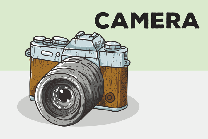 Thumbnail for Camera Vector Background