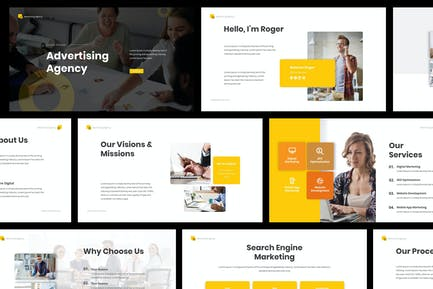 Advertising Agency Powerpoint Presentation