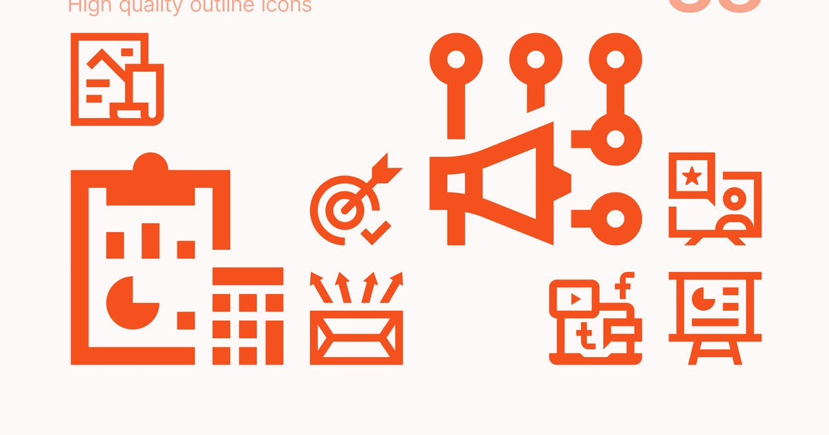 Download Marketing Icons by polshindanil
