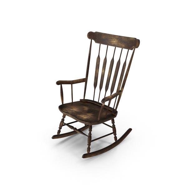 Thumbnail for Worn Rocking Chair