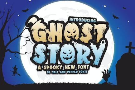 Ghost Story Font Duo