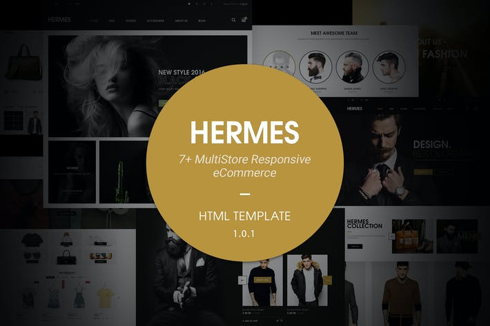 Thumbnail for Hermes | Multi Store Responsive HTML Template