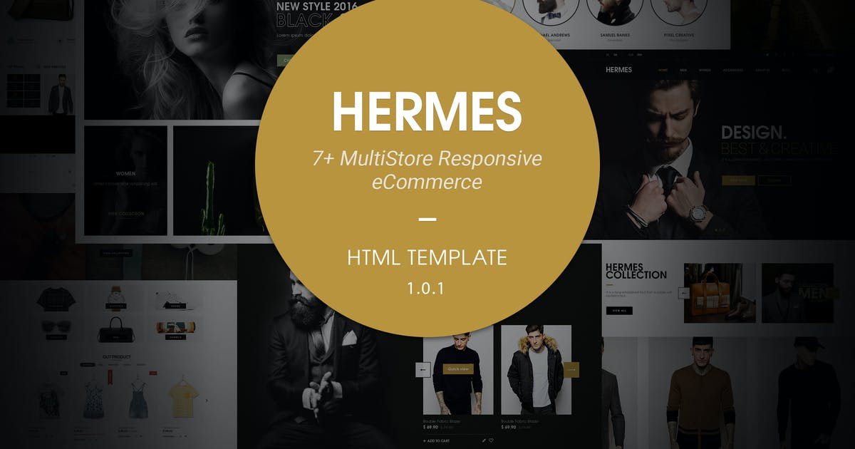 Download Hermes | Multi Store Responsive HTML Template by EngoTheme