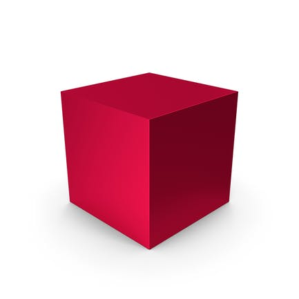 Cube Red Metallic