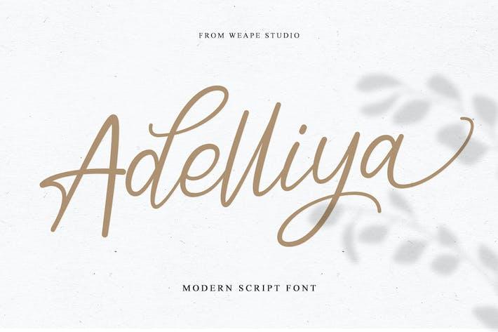 Thumbnail for Adelliya Script