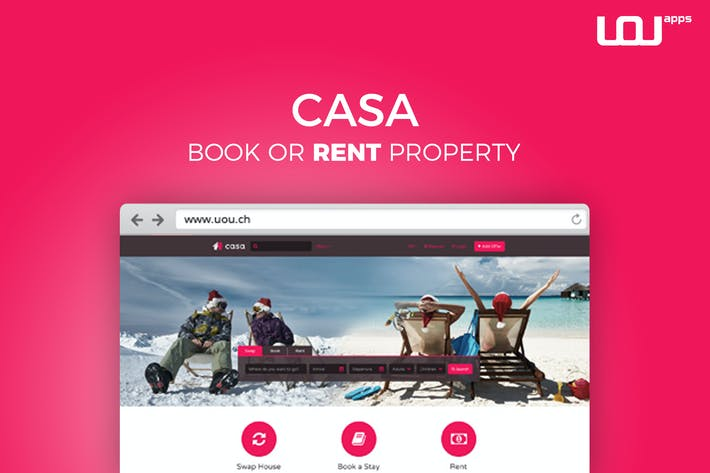 Thumbnail for Casa - Swap, Book & Rent HTML Template