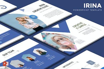 Irina - Powerpoint-Vorlage