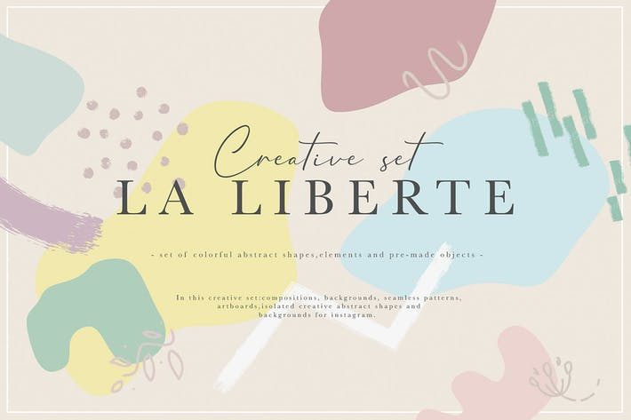La Liberte Abstract Creative Set