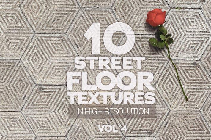 Straßenboden Texturen x10 Vol.4