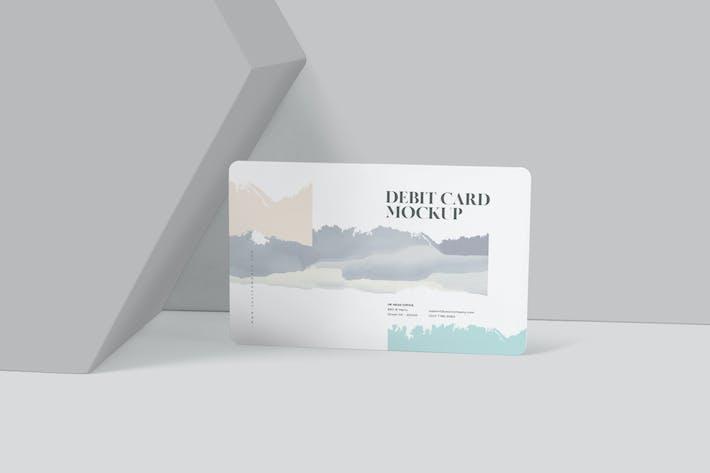Thumbnail for Debitkarten-Mockup-Vorlagen