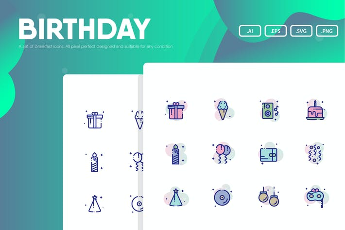 Thumbnail for Birthday Icon Pack