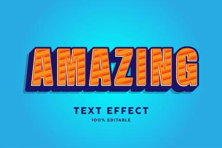 Amazing text effect