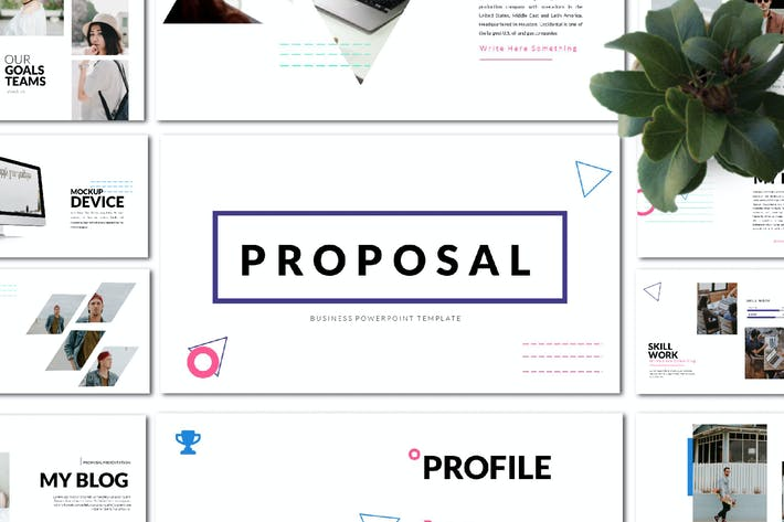 Thumbnail for Proposal Business Presentation - LS