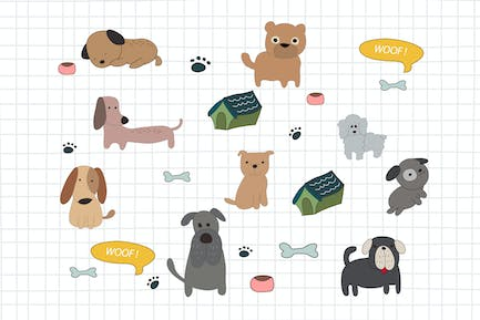 Dogs Doodle