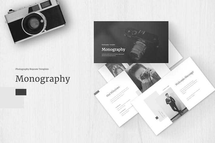 Thumbnail for Monography - Keynote Template