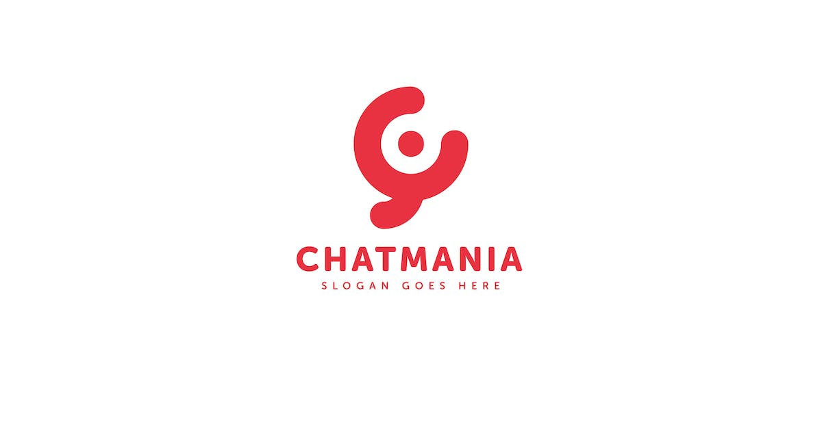 Download Chat Mania Logo Vector Template by Pixasquare