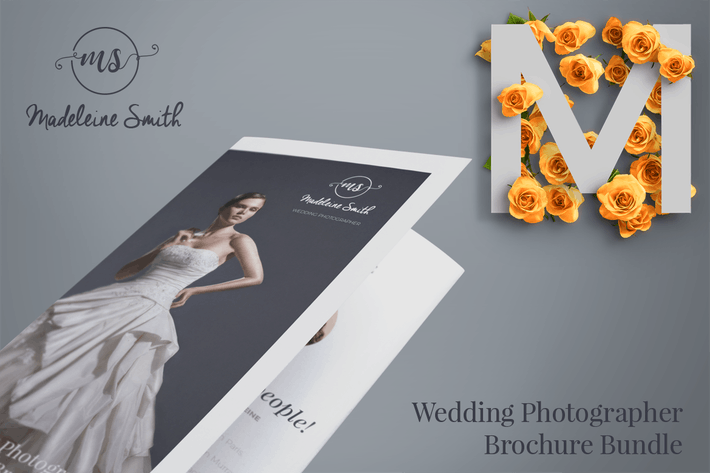 Thumbnail for MADELEINE - Wedding Brochure Bundle