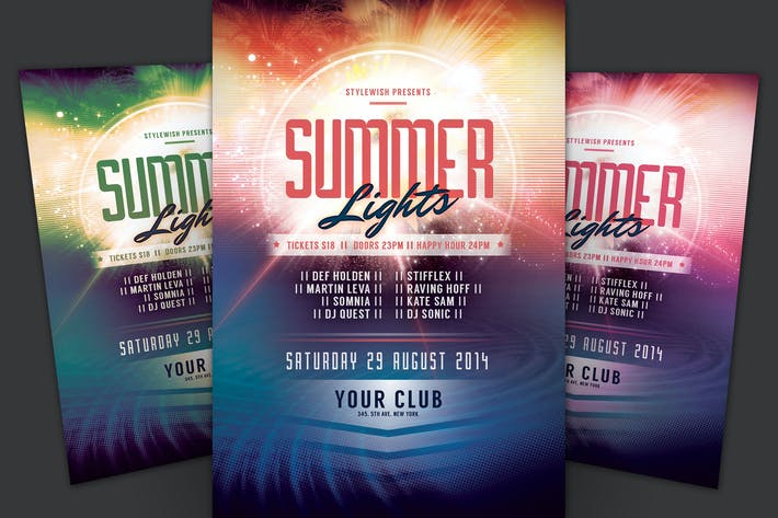 Thumbnail for Summer Lights Flyer