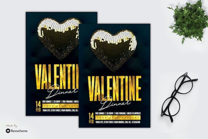 Thumbnail for Valentines Dinner - Flyer MR