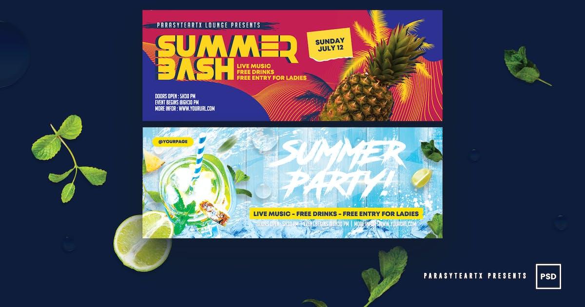 Download Summer Facebook Timeline Cover by parasyteartx