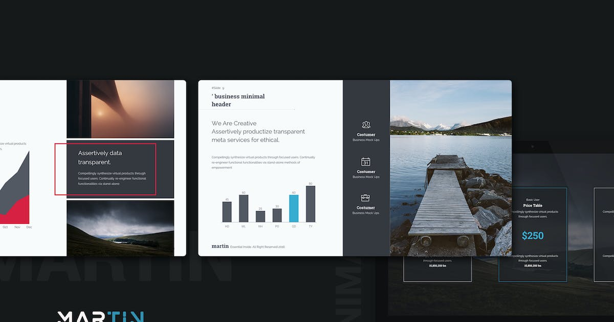 Download Martin Keynote Business Template by SimpleSmart