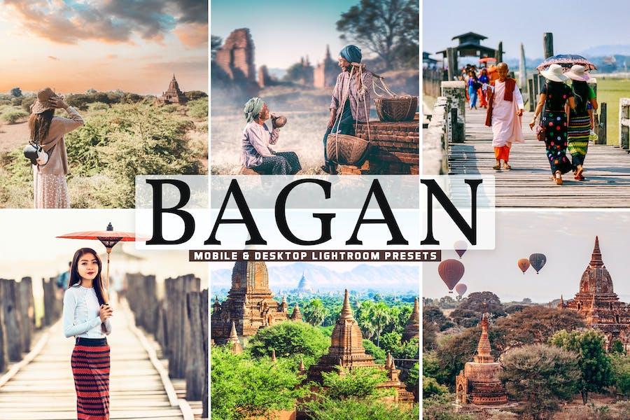 Bagan Mobile & Desktop Lightroom Presets