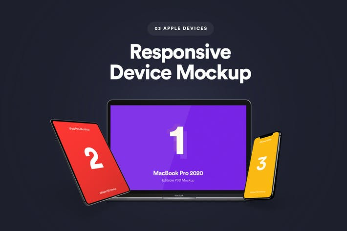 Thumbnail for Responsive Device Mockup 5.0