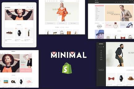 JMS Minimalista - Responsivo Shopify Tema