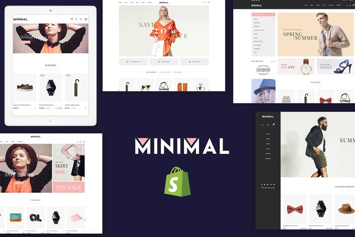 Thumbnail for JMS Minimal - Responsive Shopify Theme