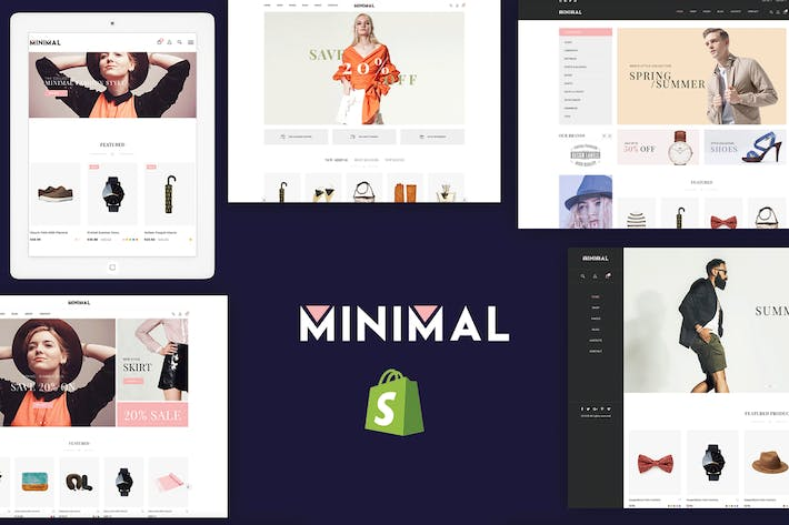 Thumbnail for JMS Minimal - Отзывчивый Shopify Тема