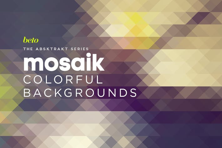 Thumbnail for Mosaik Colorful Backgronds V2
