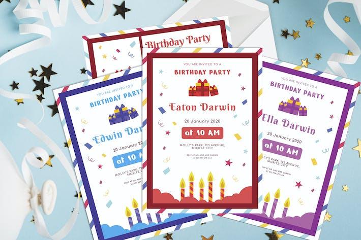 Thumbnail for Lampe de bougie - Invitation d'anniversaire pour enfants