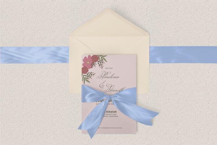 Thumbnail for Modèle d'invitation de mariage