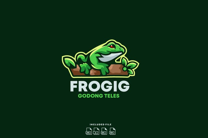 Thumbnail for Frog Logo Design Ready To Use
