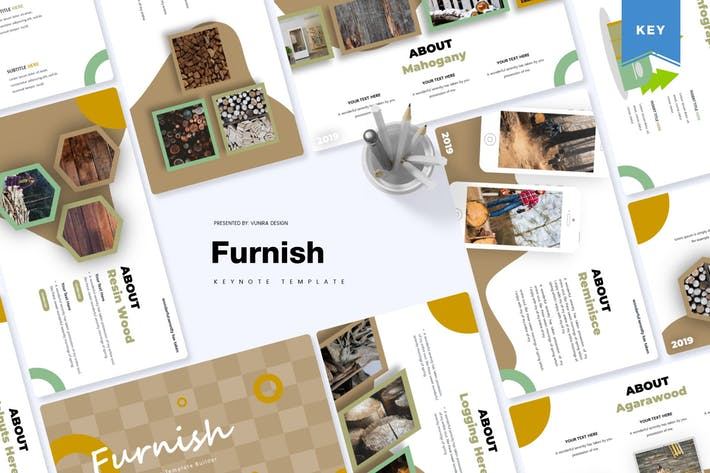Thumbnail for Furnish | Keynote Template