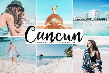 Cancun Mobile & Desktop Lightroom Presets