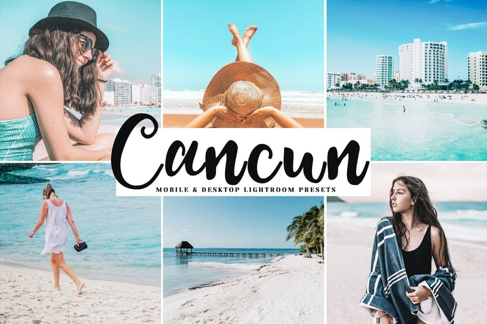 Thumbnail for Cancun Mobile & Desktop Lightroom Presets