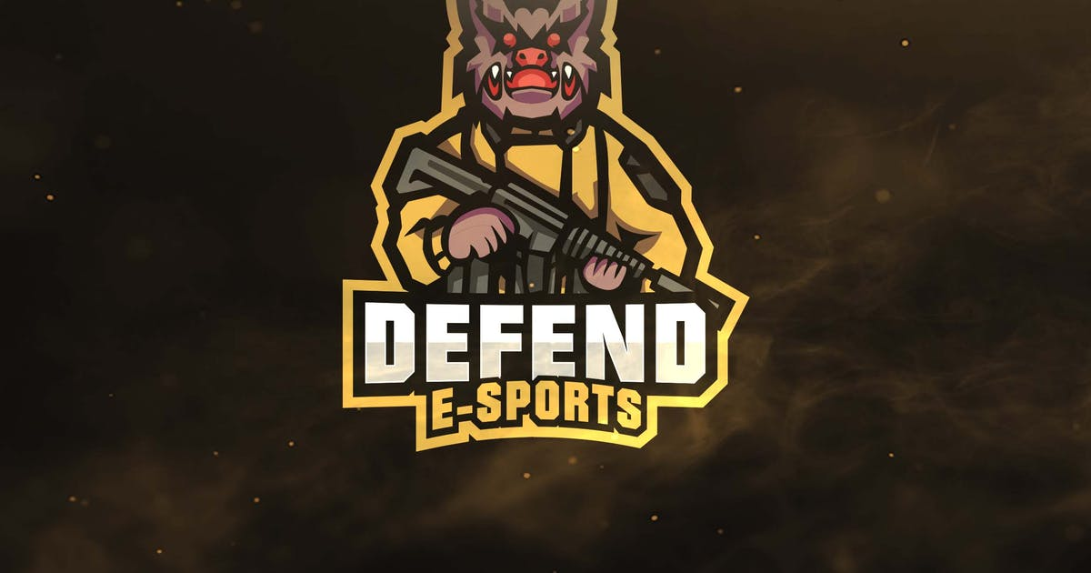 Download Defend Sport and Esports Logos by ovozdigital