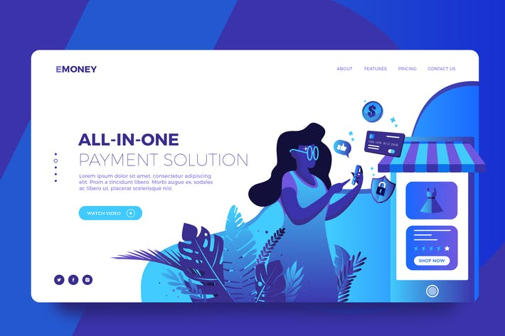 Thumbnail for Digital money vector illustration