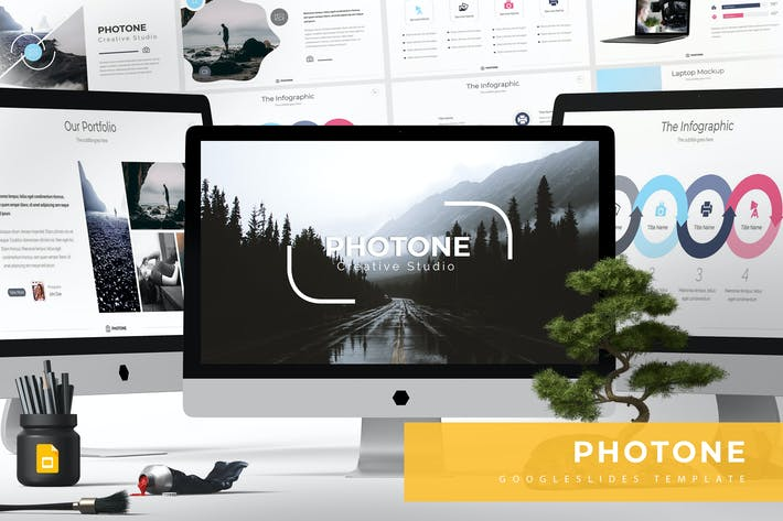 Thumbnail for Photone - Google Slide Templates