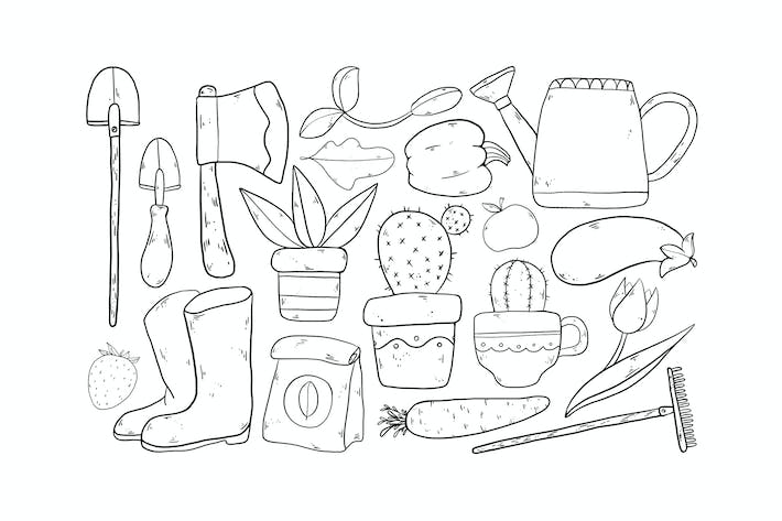 Thumbnail for Home Gardening Doodles