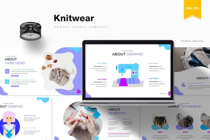 Thumbnail for Knitwear | Google Slides Template