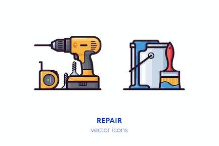 Repair icons