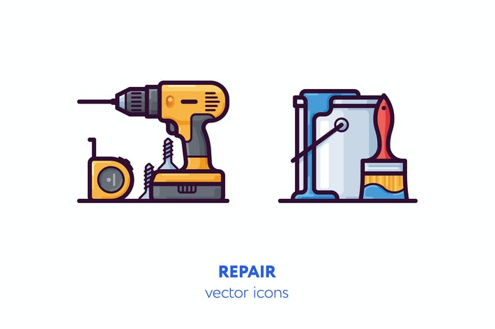Thumbnail for Repair icons