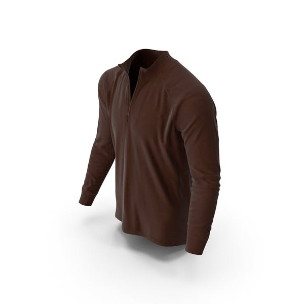 Men's Pullover Brown