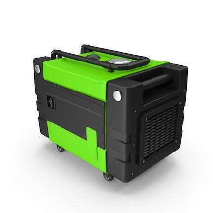 Tragbarer Generator grün