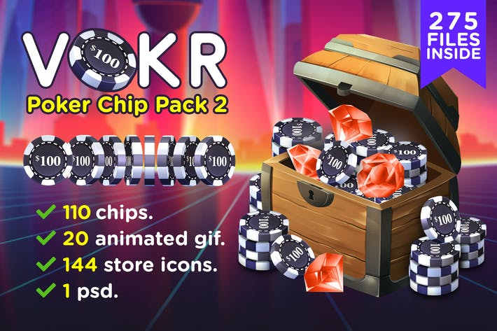 Thumbnail for VOKR - Poker Chip Pack 2